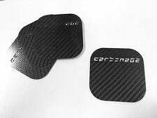100% Carbon Fibre Drink Coffee Cup Coaster set of 4 novelty mat male man gift