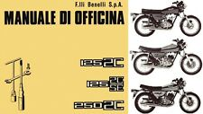 CD MANUALE DI OFFICINA BENELLI 2C - 2C.SE - 125 cc. - 250 cc.