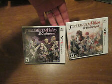 Fire Emblem Fates: Birthright  & Conquest Nintendo 3DS SET COMPLETE 2 GAMES NEW