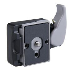 Black Camera 323 Quick Release Adapter 200PL-14 Compat Plate