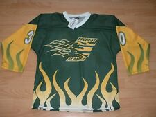EVEREST FLAMES #30 ICE HOCKEY JERSEY SIZE YOUTH XL