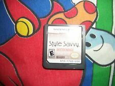 Style Savvy NFR Demo TEST Not For Resale Nintendo DS