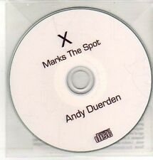 (CQ299) X Marks The Spot, Andy Duerden - DJ CD