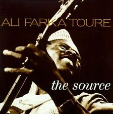 "ALI FARKA TOURE ""The Source"" 1992 Hannibal ~ Taj Mahal, Nitin Sawhney ~ AFRICAN"