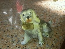 Vintage Griffon Bruxellois Dog Figurine Lifelike Breed ~made by New-Ray Toy