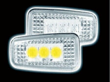 PEUGEOT 406 COUPE 406 SALOON 2000 onwards CLEAR LED SIDE REPEATERS