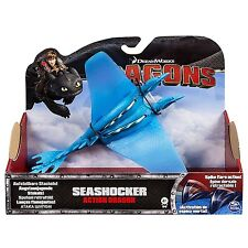 Dreamworks Dragons Defensores De Berk cómo entrenar a tu dragón seashocker figura