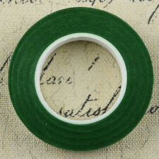 30yards Florist Green Floral Stem Tape Corsage.Buttonhole Artificial Stamen Wrap