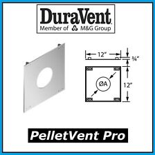 "DURAVENT PELLETVENT PRO Pipe 3"" Diameter House Sheild #3PVP-HS NEW!"