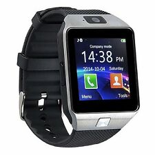 09 1.54'Touch Screen Watch Phone quad band single SIM card Bluetoot Mobile phone