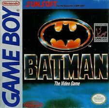Batman The Video Game Game Boy