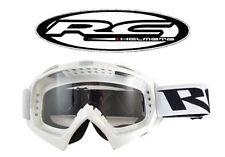 Lunette cross RC BLANC / Masque NEUF (Shark Shoei Fox)