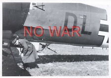 WWII GERMAN WAR PHOTO OFFICER THE LUFTWAFFE AIRPLANES ON AIRDROME