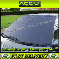 Car 4x4 Front Windscreen MEDIUM Size Snow Frost Black Ice Screen Cover Protector