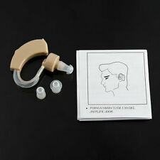 Adjustable Ear Sound Amplifier Volume Tone Hearing Listen Assistance Aid Kit IW