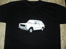 T-SHIRT - 80S BRAZILIAN FIAT 147  - 100% COTTON - RETRO