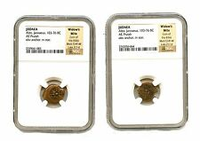 Widows Mite Ancient Coin NGC Certified Authentic HIGHEST GRADE!