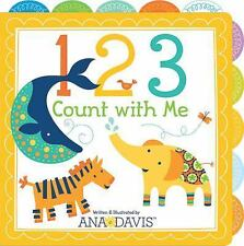 123 Count with Me by Ana Davis - Children's Board Book