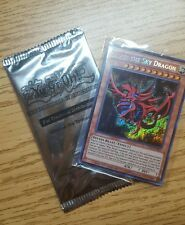 Yugioh Egyptian God Card Set Obelisk Tormentor Movie promo Secret Rare Slifer
