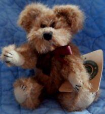 """BOYD BOYDS BEARS 5 1/2"""" CINNAMON COLOR TEDDY BEAR NEVILLE NEW NWT"""
