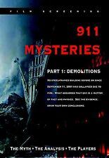 """""""911 Mysteries - Part 1: Demolitions"""" DVD in Clamshell Case"""