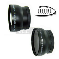 SET OBJECTIFS GRAND ANGLE MACRO & 2X TELEPHOTO CASIO