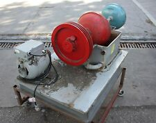 Dumbbell hermetic refrigeration system compressor early 20th century collectable