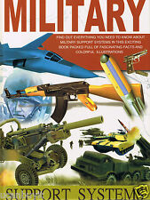 MILITARY Support Systems Reference Hardback Book Gr 1+