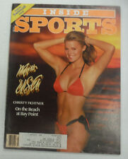 Inside Sports Magazine Christy Fichtner Swimsuits February 1987 061715R