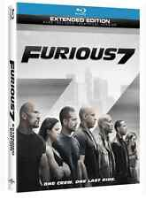 Furious 7 (Blu-ray+DVD+Digital Copy)2015 Brand New Fast Free Shippin W/Slipcover