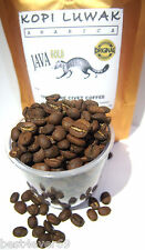 200 gr Arabica Civet Coffee Roasted Beans - Wild Pure Indonesia Fresh Kopi Luwak
