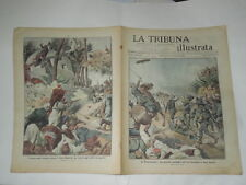 ILLUSTRATORE E.ABBO-STAMPE DEL 1911-BATTAGLIA A SIDI MESSRI-I TURCO-ARABI RESPIN