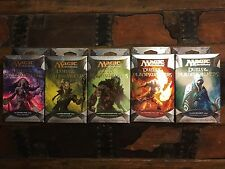 MTG Magic the Gathering Duels of the Planeswalkers complete set, all 5 decks!