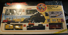 LIONEL TRAIN SET DISNEY MICKEY'S WORLD TOUR 6-11721 NIB BOX UNOPENED NOS 1992 B+