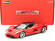 Bburago Signature Series Ferrari Laferrari F70 2014 New Enzo 1:18 18-16901 Red