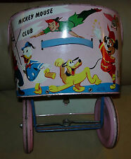 DISNEY  MICKEY MOUSE CLUB STROLLER  1950'S  CADCO / ADCO  USA  DONALD NEPHEWS