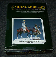 54mm 1/32 METAL MODELES NAPOLEON CROSSING THE ALPS ON DONKEY WITH HANDLER