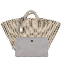 DOLCE & GABBANA RUNWAY 2 in 1 Tasche Handtasche Beige Bag Handbag 02561