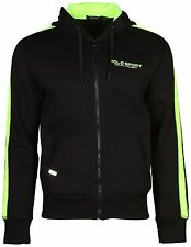 Polo Sport Ralph Lauren Mens XXL Black Neon Full-Zip Hoodie SWEATSHIRT Jacket 2X