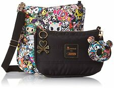Tokidoki LeSportsac Women's Duet Purse Cross Body Shoulder Bag Tote