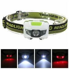 3000LM Faro Cabeza Linterna R3 2 LED Headlight Headlamp Frontal Lámpara Torch