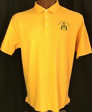 Bona Venture Stables Gold Yellow Horse Polo SS L 100% Cotton by Chestnut Hill