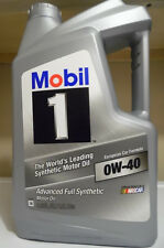 Mobil 1 0W-40 Advanced Full Synthetic Motor Oil 5 qt. Engine oil for Europian