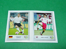 N°9 WÖRNS 125 PARK JI-SUNG PANINI FOOTBALL GERMANY 2006 MINI-STICKERS