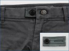 Grey Pants Shorts Jeans Trouser Waist Extension Expander Extend Size Button