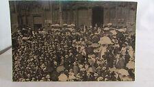 cpa photo 38 vienne congres eucharistique 1912 parvis eglise 2