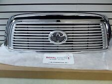 Toyota Tundra 2012 2013 Limited Platinum Chrome Grille Genuine OE OEM