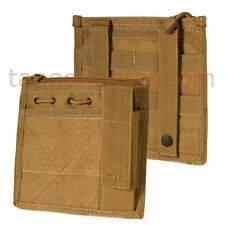CONDOR MA30 MOLLE Admin w/FlashLight Chest Pouch w/Hook Loop  Coyote TAN