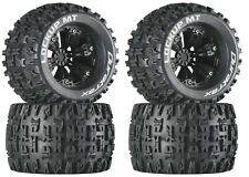 Duratrax DTXC3580 Mounted Lockup MT 3.8 Tire / Wheel (4) E-Revo Summit T-Maxx