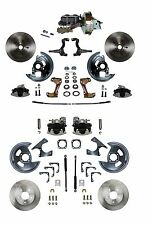 1964-1972 Chevelle Front & Rear Disc Brake Conversion Kit - Power Brake